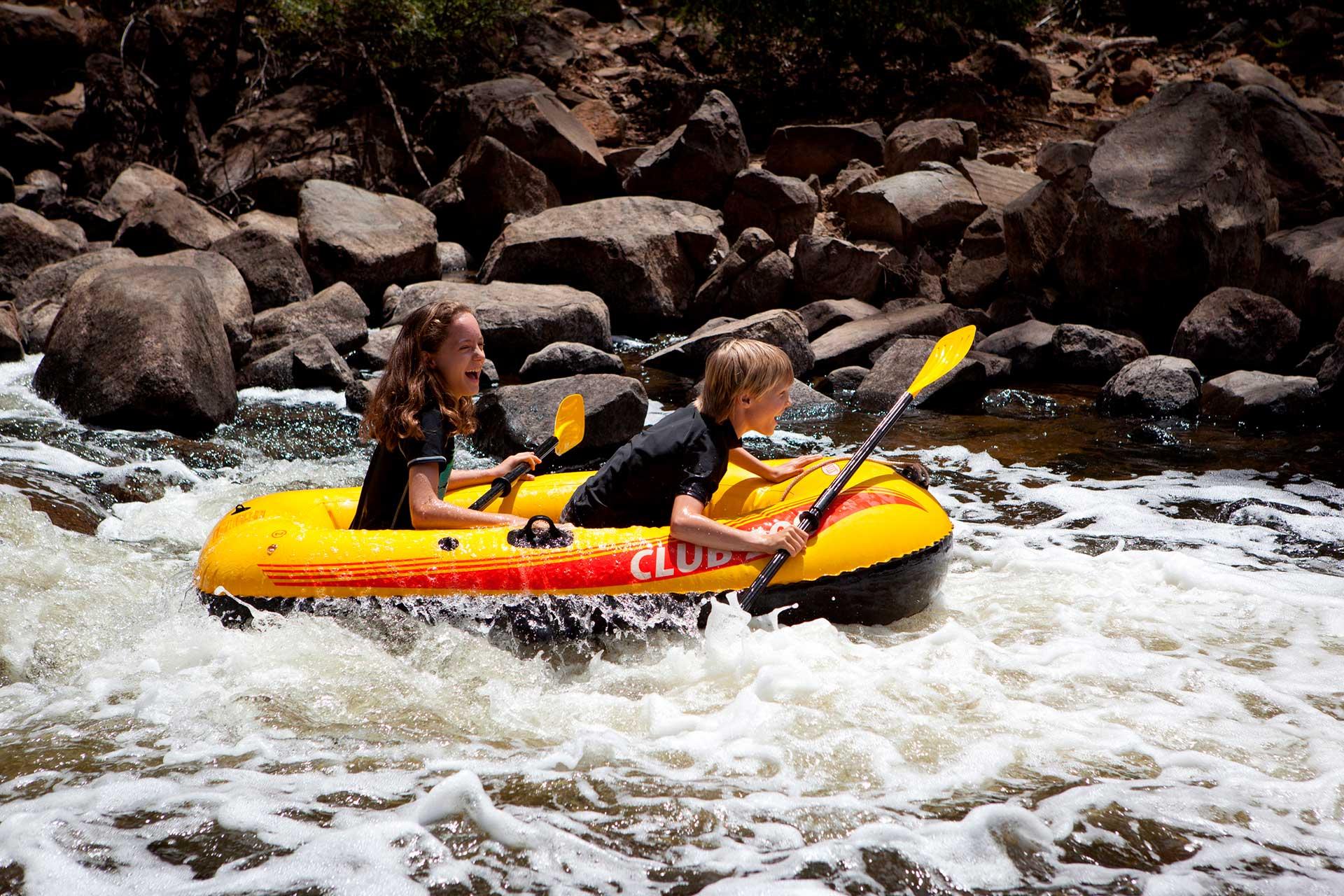 Fast Water Rafting